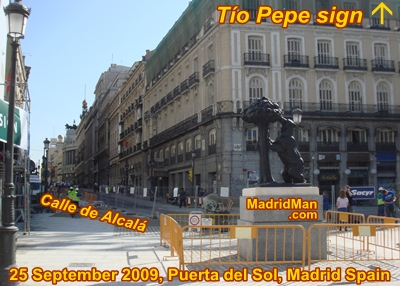 El oso y el madro o statue in puerta del sol changes for Calle sol madrid
