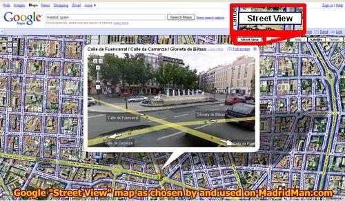 google street view spain