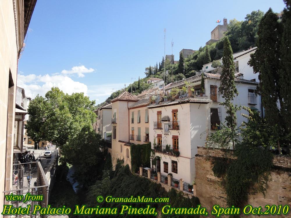 Granada hotel palacio mariana pineda review madrid blog for Casa de granada