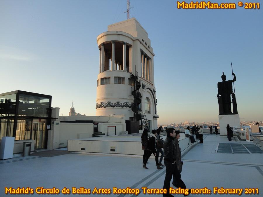 Circulo de bellas artes for great madrid skyline views for Azoteas madrid
