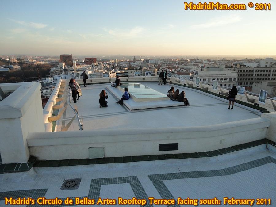 Circulo De Bellas Artes For Great Madrid Skyline Views