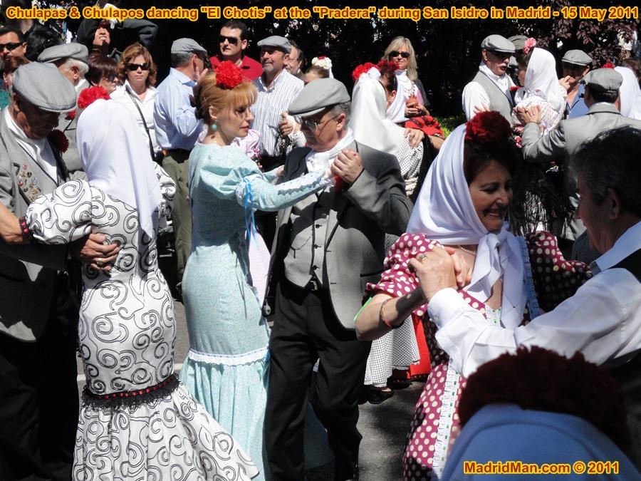 El Chotis Dance Chulapas Chulapos San Isidro 2011 Madrid