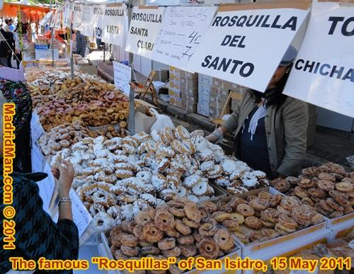 Rosquillas de San Isidro 2011 Madrid