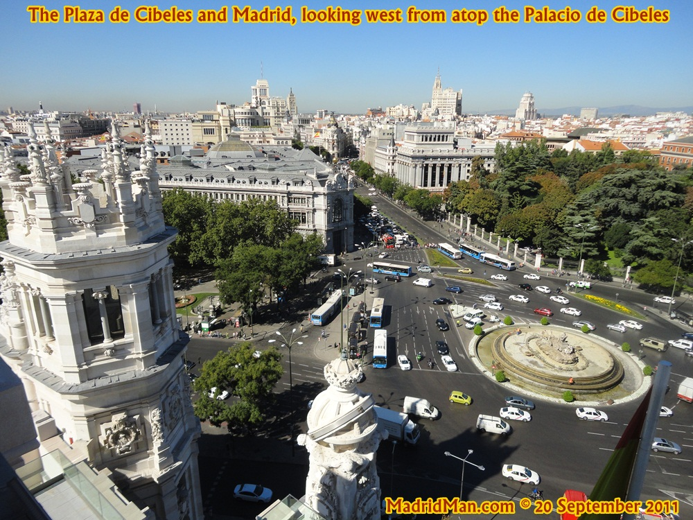 Palacio De Cibeles Observation Deck For Great Views Of