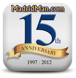 MadridMan's 15-Year Anniversary on the Internet in 2012