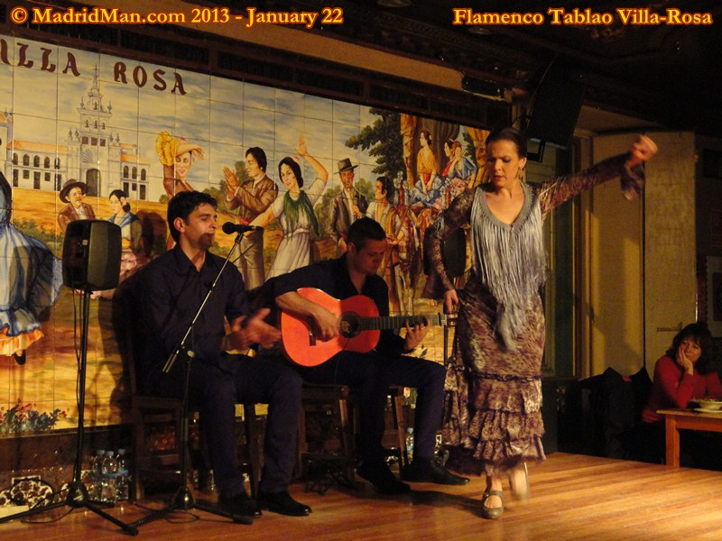 Madrid Flamenco Tablao Villa-Rosa Tamar Gonzalez 2013