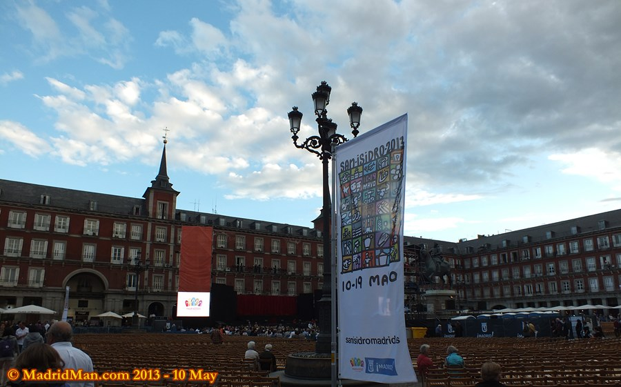 2013 Plaza Mayor San Isidro Concert