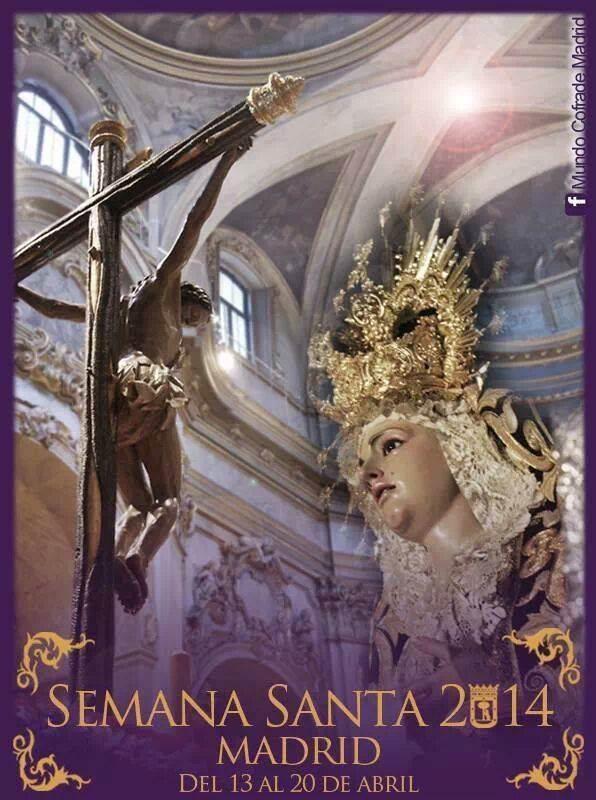 2014 Semana Santa Madrid poster