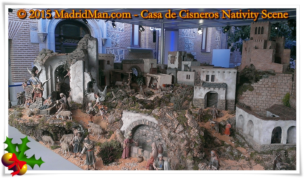 Nativity Scenes in Madrid - Casa de Cisneros